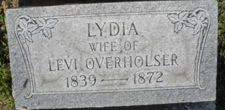 OVERHOLSER, LYDIA - Montgomery County, Ohio | LYDIA OVERHOLSER - Ohio Gravestone Photos