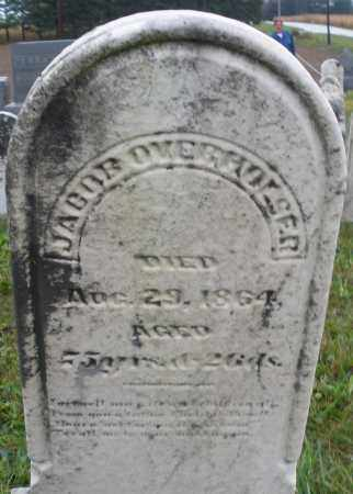OVERHOUSER, JACOB - Montgomery County, Ohio | JACOB OVERHOUSER - Ohio Gravestone Photos