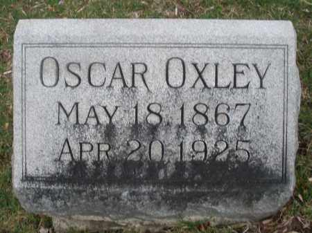 OXLEY, OSCAR - Montgomery County, Ohio | OSCAR OXLEY - Ohio Gravestone Photos