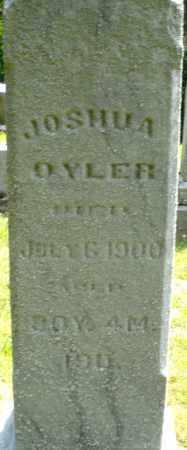 OYLER, JOSHUA - Montgomery County, Ohio | JOSHUA OYLER - Ohio Gravestone Photos