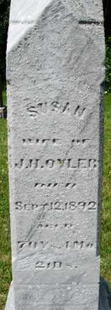 OYLER, SUSAN - Montgomery County, Ohio | SUSAN OYLER - Ohio Gravestone Photos