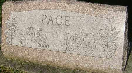 PACE, DONALD D - Montgomery County, Ohio | DONALD D PACE - Ohio Gravestone Photos