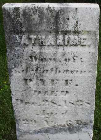 PAFF, CATHARINE - Montgomery County, Ohio | CATHARINE PAFF - Ohio Gravestone Photos