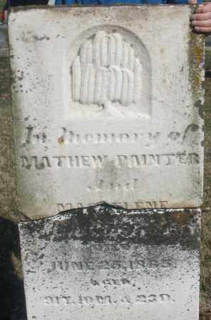 PAINTER, MAGDELENE - Montgomery County, Ohio | MAGDELENE PAINTER - Ohio Gravestone Photos