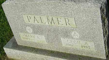 PALMER, CECIL A - Montgomery County, Ohio | CECIL A PALMER - Ohio Gravestone Photos