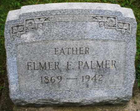 PALMER, ELMER F. - Montgomery County, Ohio | ELMER F. PALMER - Ohio Gravestone Photos