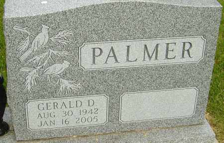 PALMER, GERALD D - Montgomery County, Ohio | GERALD D PALMER - Ohio Gravestone Photos