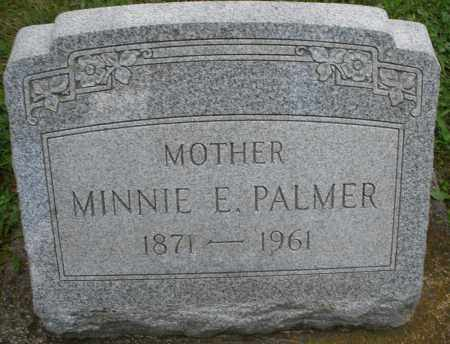 PALMER, MINNIE E. - Montgomery County, Ohio | MINNIE E. PALMER - Ohio Gravestone Photos