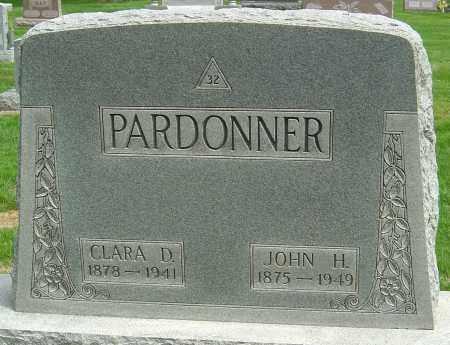 PARDONNER, CLARA DELLA - Montgomery County, Ohio | CLARA DELLA PARDONNER - Ohio Gravestone Photos