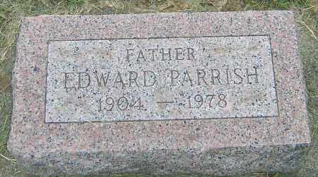 PARRISH, EDWARD - Montgomery County, Ohio | EDWARD PARRISH - Ohio Gravestone Photos