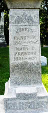 PARSONS, MARY C. - Montgomery County, Ohio | MARY C. PARSONS - Ohio Gravestone Photos