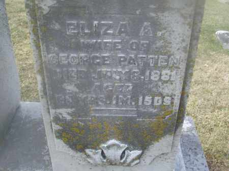 PATTEN, ELIZABETH A. - Montgomery County, Ohio | ELIZABETH A. PATTEN - Ohio Gravestone Photos