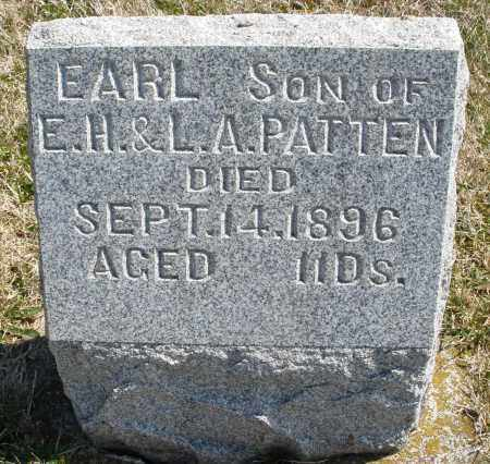 PATTEN, EARL - Montgomery County, Ohio | EARL PATTEN - Ohio Gravestone Photos