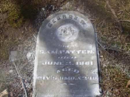 PATTEN, GEORGE W. - Montgomery County, Ohio | GEORGE W. PATTEN - Ohio Gravestone Photos