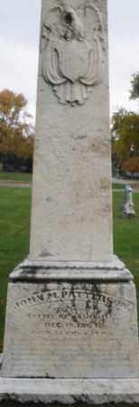 PATTERSON, JOHN M. - Montgomery County, Ohio | JOHN M. PATTERSON - Ohio Gravestone Photos