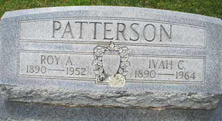 PATTERSON, IVAH C. - Montgomery County, Ohio | IVAH C. PATTERSON - Ohio Gravestone Photos