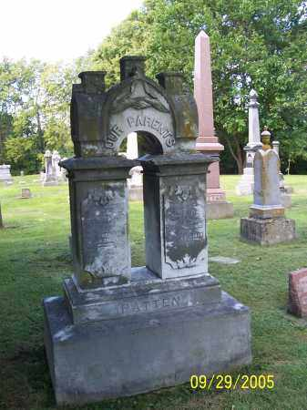 PATTON, CATHERINE - Montgomery County, Ohio | CATHERINE PATTON - Ohio Gravestone Photos