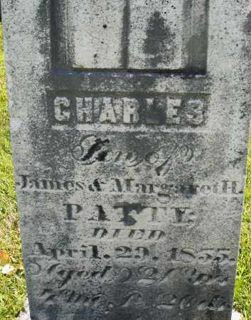 PATTY, CHARLES - Montgomery County, Ohio | CHARLES PATTY - Ohio Gravestone Photos
