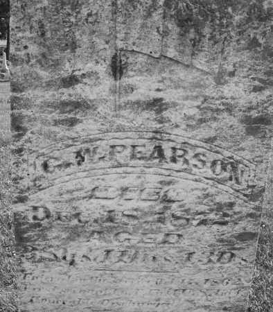 PEARSON, G.W. - Montgomery County, Ohio | G.W. PEARSON - Ohio Gravestone Photos