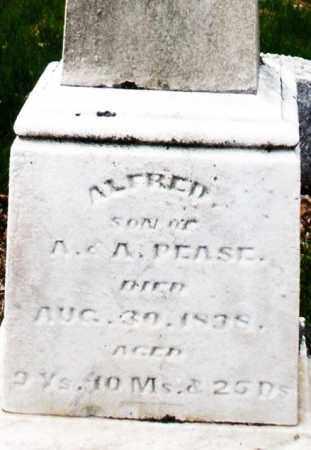 PEASE, ALFRED JR. - Montgomery County, Ohio | ALFRED JR. PEASE - Ohio Gravestone Photos