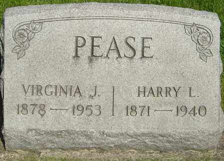 PEASE, HARRY L - Montgomery County, Ohio | HARRY L PEASE - Ohio Gravestone Photos