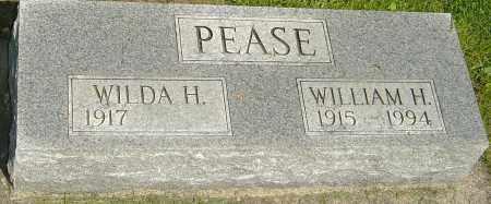 PEASE, WILLIAM H - Montgomery County, Ohio | WILLIAM H PEASE - Ohio Gravestone Photos