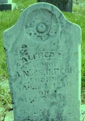 PECK, ALFRED M. - Montgomery County, Ohio | ALFRED M. PECK - Ohio Gravestone Photos