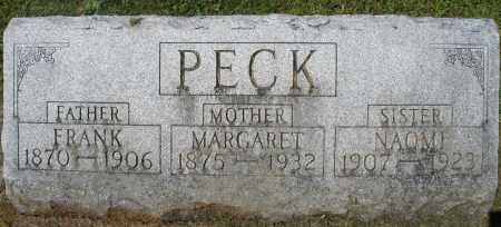 PECK, FRANK - Montgomery County, Ohio | FRANK PECK - Ohio Gravestone Photos