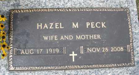 PECK, HAZEL M. - Montgomery County, Ohio | HAZEL M. PECK - Ohio Gravestone Photos
