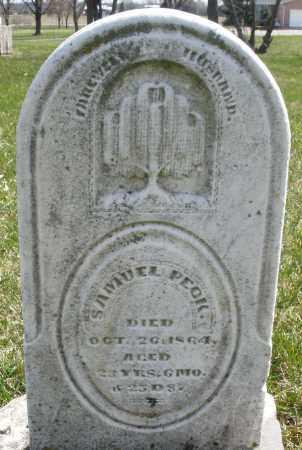 PECK, SAMUEL - Montgomery County, Ohio | SAMUEL PECK - Ohio Gravestone Photos