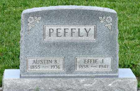 PEFFLY, EFFIE J. - Montgomery County, Ohio | EFFIE J. PEFFLY - Ohio Gravestone Photos