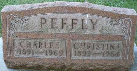 PEFFLY, CHARLES - Montgomery County, Ohio | CHARLES PEFFLY - Ohio Gravestone Photos