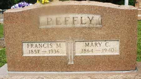PEFFLY, FRANCIS M. - Montgomery County, Ohio | FRANCIS M. PEFFLY - Ohio Gravestone Photos