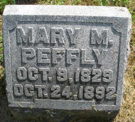 PEFFLY, MARY M. - Montgomery County, Ohio | MARY M. PEFFLY - Ohio Gravestone Photos