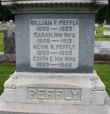 PEFFLY, EDITH E. - Montgomery County, Ohio | EDITH E. PEFFLY - Ohio Gravestone Photos