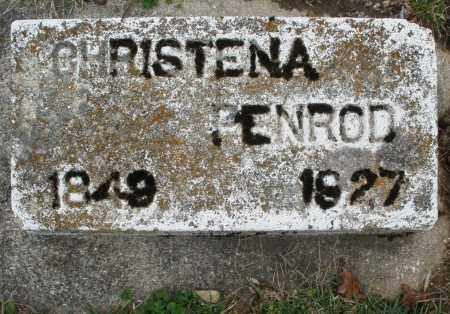 PENROD, CHRISTENA - Montgomery County, Ohio | CHRISTENA PENROD - Ohio Gravestone Photos