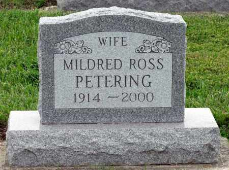 PETERING, MILDRED - Montgomery County, Ohio | MILDRED PETERING - Ohio Gravestone Photos