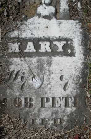 PETREY, MARY - Montgomery County, Ohio   MARY PETREY - Ohio Gravestone Photos