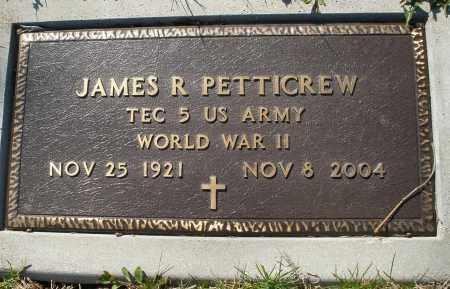 PETTICREW, JAMES R. - Montgomery County, Ohio | JAMES R. PETTICREW - Ohio Gravestone Photos