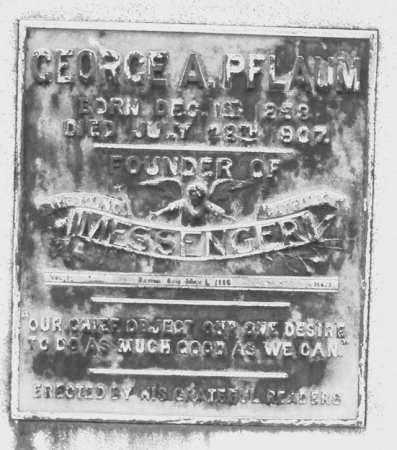 PFLAUM, GEORGE A. - Montgomery County, Ohio | GEORGE A. PFLAUM - Ohio Gravestone Photos