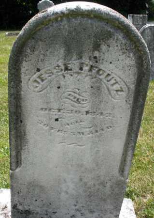 PFOUTZ, JESSE - Montgomery County, Ohio | JESSE PFOUTZ - Ohio Gravestone Photos