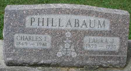 PHILLABAUM, LAURA J. - Montgomery County, Ohio | LAURA J. PHILLABAUM - Ohio Gravestone Photos