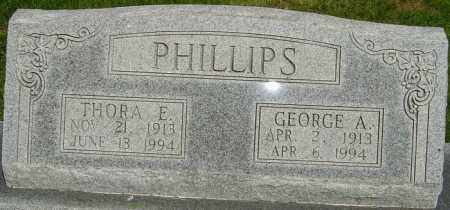 SCHEFFEL PHILLIPS, THORA EILEEN - Montgomery County, Ohio | THORA EILEEN SCHEFFEL PHILLIPS - Ohio Gravestone Photos