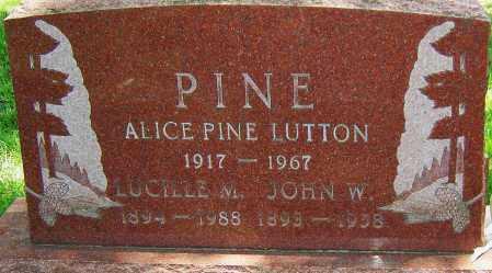PINE, LUCILLE - Montgomery County, Ohio | LUCILLE PINE - Ohio Gravestone Photos