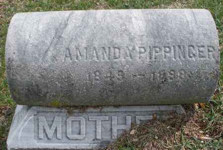 PIPPINGER, AMANDA - Montgomery County, Ohio | AMANDA PIPPINGER - Ohio Gravestone Photos
