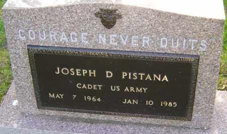 PISTANA, JOSEPH D - Montgomery County, Ohio | JOSEPH D PISTANA - Ohio Gravestone Photos