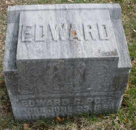 POFF, EDWARD - Montgomery County, Ohio | EDWARD POFF - Ohio Gravestone Photos