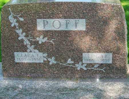 POFF, EDGAR JOSEPH - Montgomery County, Ohio | EDGAR JOSEPH POFF - Ohio Gravestone Photos