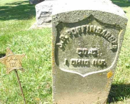 POFFINBARGER, J.P. - Montgomery County, Ohio | J.P. POFFINBARGER - Ohio Gravestone Photos