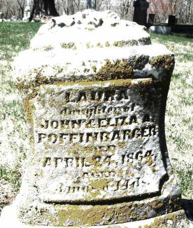 POFFINBARGER, LAURA - Montgomery County, Ohio | LAURA POFFINBARGER - Ohio Gravestone Photos